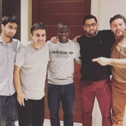 Visit from Ngolo Kante